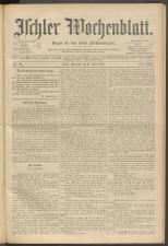 Ischler Wochenblatt 18970627 Seite: 1