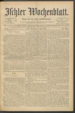 Ischler Wochenblatt 18970801 Seite: 1