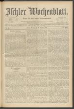 Ischler Wochenblatt 18971031 Seite: 1