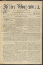Ischler Wochenblatt 18971225 Seite: 1