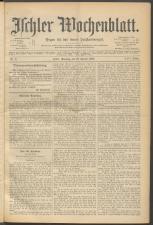 Ischler Wochenblatt 18980116 Seite: 1