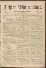 Ischler Wochenblatt 18980123 Seite: 1