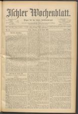 Ischler Wochenblatt 18980424 Seite: 1