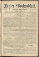 Ischler Wochenblatt 18980717 Seite: 1