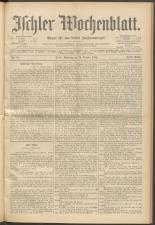 Ischler Wochenblatt 18981016 Seite: 1