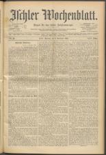 Ischler Wochenblatt 18981106 Seite: 1