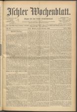 Ischler Wochenblatt 18981113 Seite: 1