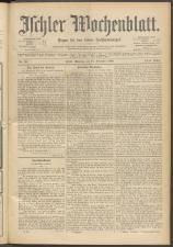 Ischler Wochenblatt 18981218 Seite: 1