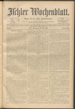 Ischler Wochenblatt 18990730 Seite: 1
