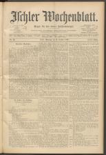 Ischler Wochenblatt 18991015 Seite: 1