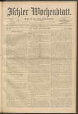 Ischler Wochenblatt 18991022 Seite: 1