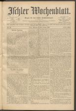 Ischler Wochenblatt 18991029 Seite: 1