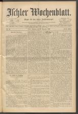 Ischler Wochenblatt 18991126 Seite: 1