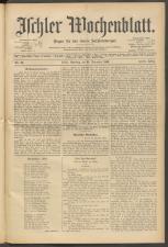 Ischler Wochenblatt 18991224 Seite: 1