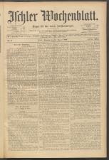 Ischler Wochenblatt 19000114 Seite: 1