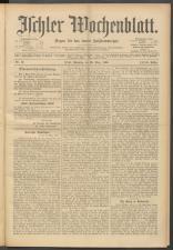 Ischler Wochenblatt 19000325 Seite: 1