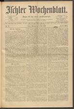 Ischler Wochenblatt 19000506 Seite: 1