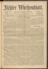 Ischler Wochenblatt 19000513 Seite: 1