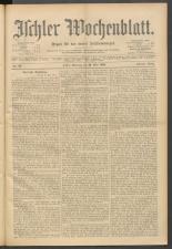 Ischler Wochenblatt 19000520 Seite: 1