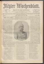 Ischler Wochenblatt 19000819 Seite: 1