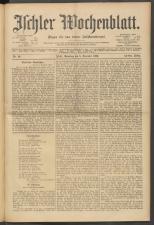 Ischler Wochenblatt 19001208 Seite: 1