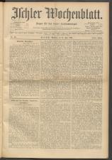 Ischler Wochenblatt 19010714 Seite: 1