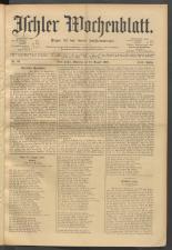 Ischler Wochenblatt 19010818 Seite: 1
