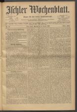 Ischler Wochenblatt 19011006 Seite: 1