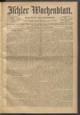 Ischler Wochenblatt 19011124 Seite: 1