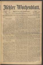 Ischler Wochenblatt 19020504 Seite: 1