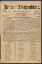 Ischler Wochenblatt 19020713 Seite: 1
