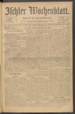 Ischler Wochenblatt 19020928 Seite: 1