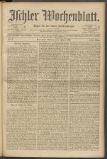 Ischler Wochenblatt 19030111 Seite: 1