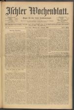 Ischler Wochenblatt 19030201 Seite: 1
