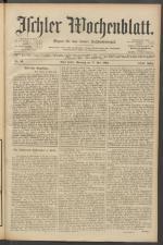 Ischler Wochenblatt 19030517 Seite: 1