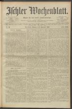 Ischler Wochenblatt 19030906 Seite: 1