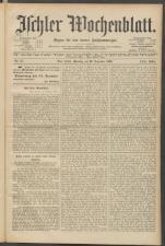Ischler Wochenblatt 19031220 Seite: 1