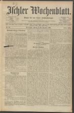 Ischler Wochenblatt 19031225 Seite: 1