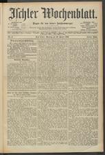 Ischler Wochenblatt 19040110 Seite: 1