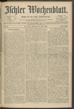 Ischler Wochenblatt 19040417 Seite: 1