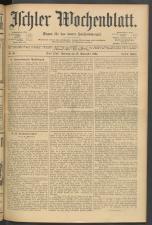 Ischler Wochenblatt 19040918 Seite: 1