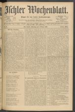 Ischler Wochenblatt 19041009 Seite: 1