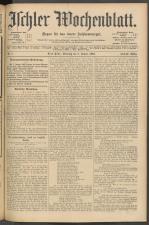 Ischler Wochenblatt 19050108 Seite: 1
