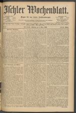 Ischler Wochenblatt 19050305 Seite: 1