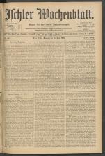 Ischler Wochenblatt 19050618 Seite: 1