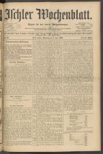Ischler Wochenblatt 19050702 Seite: 1