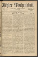 Ischler Wochenblatt 19050716 Seite: 1