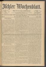 Ischler Wochenblatt 19051022 Seite: 1