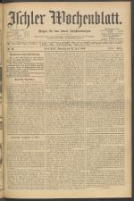 Ischler Wochenblatt 19060624 Seite: 1