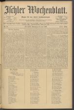 Ischler Wochenblatt 19060715 Seite: 1